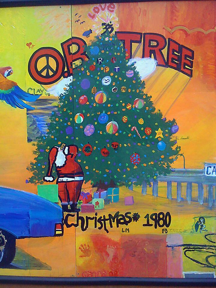 The OB Christmas Tree, Ocean Beach, San Diego, CA 2008