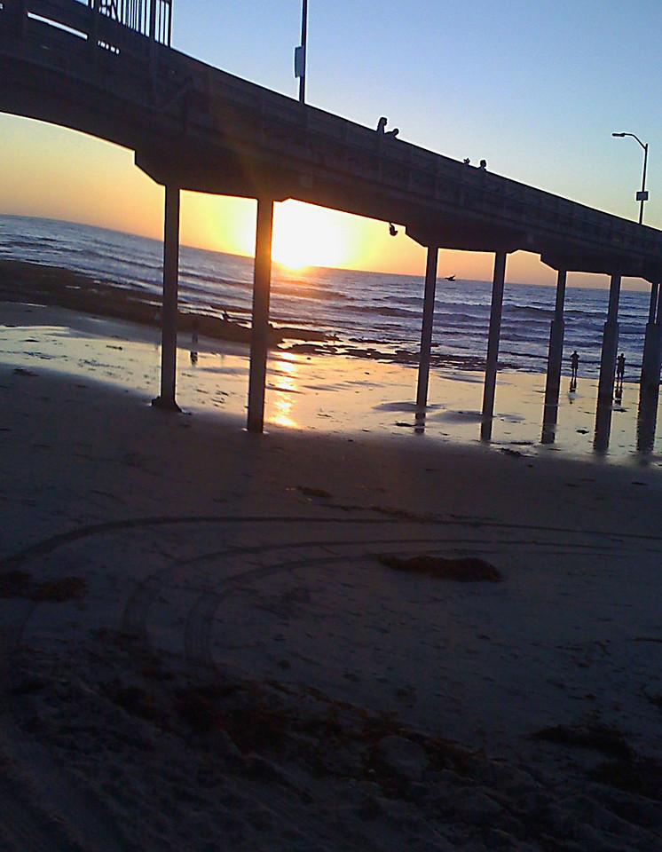 The OB Pier, near Trav's home, 2008