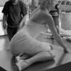 Marilyn Monroe wax figure, Hollywood Blvd