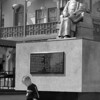 Los Angeles, Chinatown<br /> Sun Yat Sen Views Boy<br /> (Child is father of the man?)