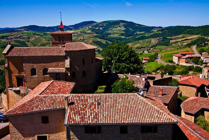 Villages médiévaux de France : Oingt et Theizé - Rhône - France