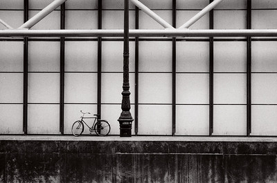 bike at pompidou