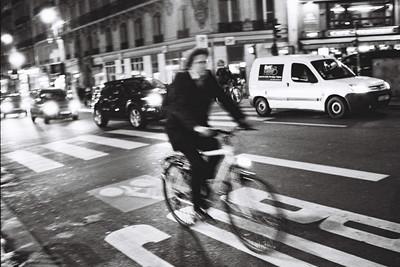 bus and bike lane