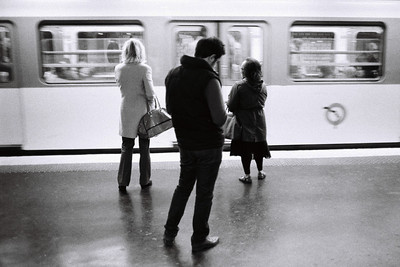 3 wait for the metro