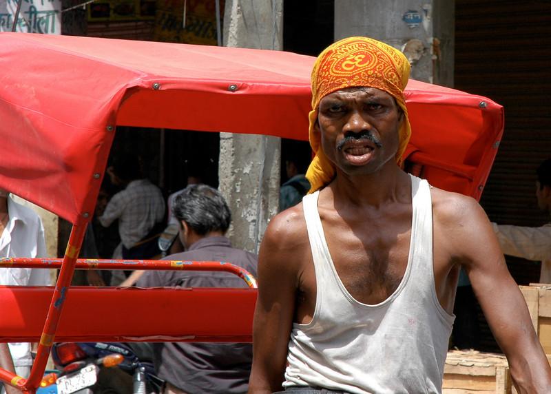 Old Delhi-3<br /> Richshaw Puller