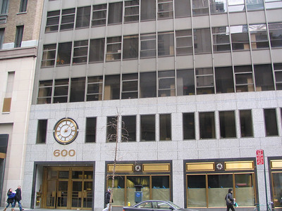Pendant Publishing, 600 Madison Avenue - This is where Elaine's offices are at the fake Pendant Publishing.