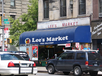 """Lee's Market, 1494 1st Avenue - This is where Jerry and Larry David came up with 'the show about nothing'. They were browsing through the store and picking up goofy stuff and making fun of it and that's when they said, """"This is what the show should be about... just the random, everyday stuff that is also funny."""""""