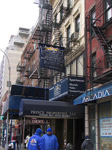 Catch A Rising Star (now Prince Properties) -  First Ave and E 77th Street. This was a stand-up club where Jerry Seinfeld often performed.