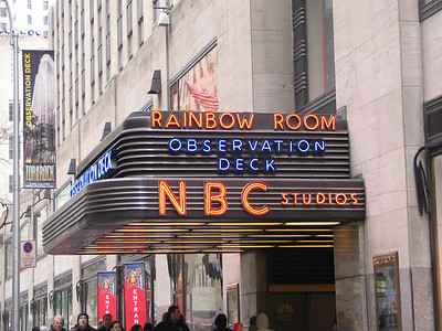 NBC, 50 W 50th Street - Jerry and George come up with a one-episode pilot for the show, 'Jerry'. George insists the show is about nothing.