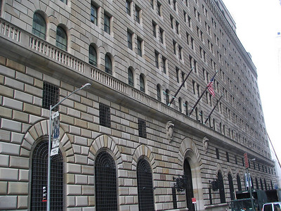 The Federal Reserve building exterior, used for the Commission meeting.