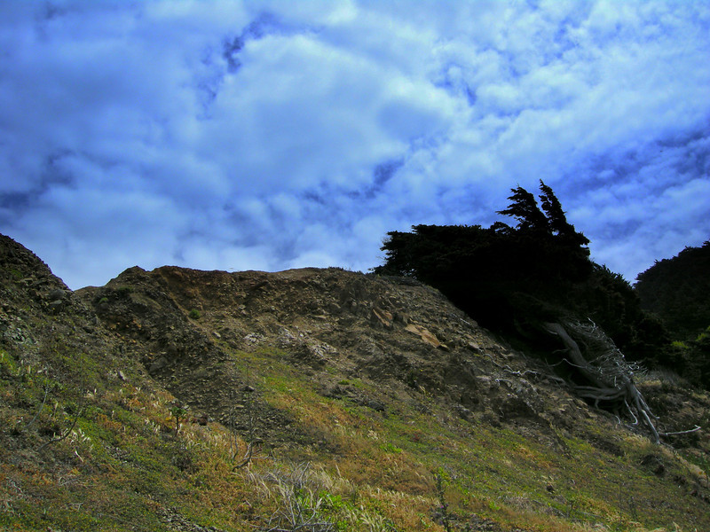 Cliff Above One-Mile Beach