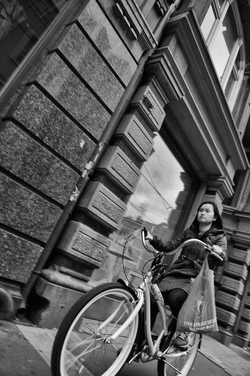 Random cyclist