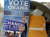 Canvassing for Barack Obama. Orlando, FL, November 2008