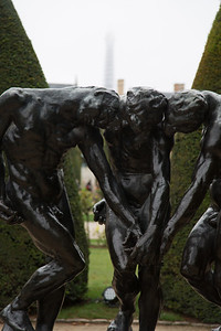 At the Rodin Museum