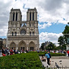 Notre Dame Cathedral, Catholic church, Paris, International City.