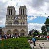 Notre Dame Cathedral, Catholic church, Paris, International City.