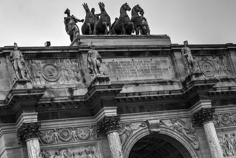 Arc de Triomphe du Caroussel - Louvre Paris