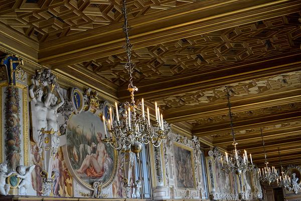 Galerie Francois 1er - Château de Fontainebleau