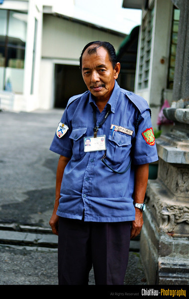 The 1st shot I took for this security for a small factory... and...