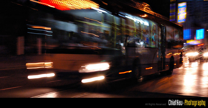 Give way! bus on the rush~!