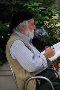 Artist, Madison Sq. Park, NYC