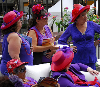 The Red Hat Society, NYC