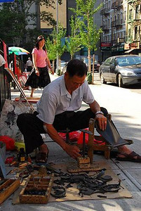 Chinatown Street Cobbler NYC