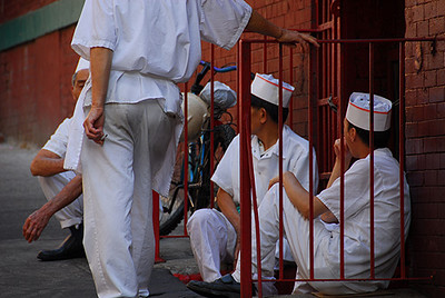 Chefs' Ciggy Break (Chinatown) NYC