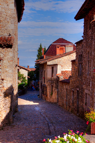 Pérouges - Ain - France