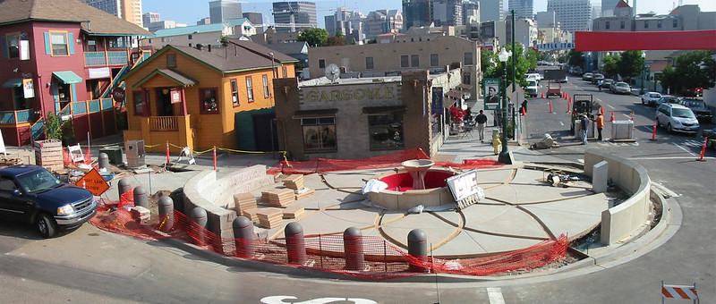 Piazza Basilone Progression Shots