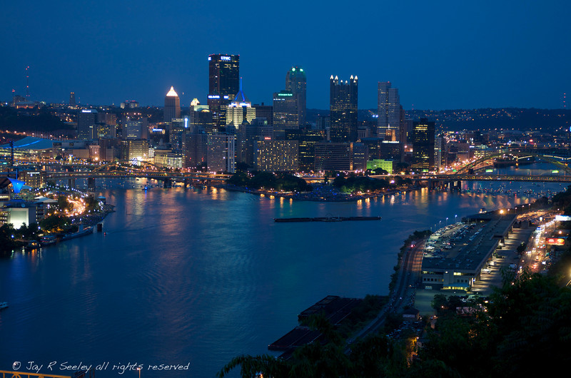 Downtown Pittsburgh, 4th of July