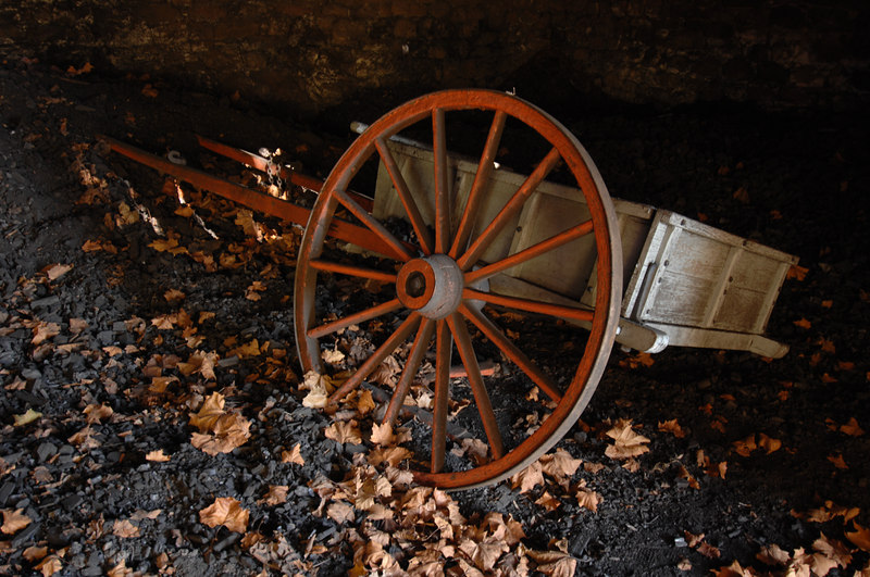 Charcoal Cart, Hopewell Furnace