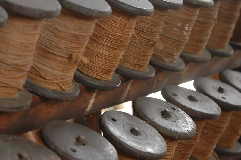 Spools for rope making