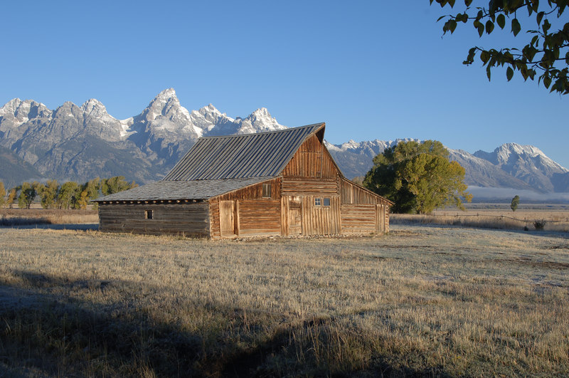 Morman Barn, Grand Tetons, Wyoming