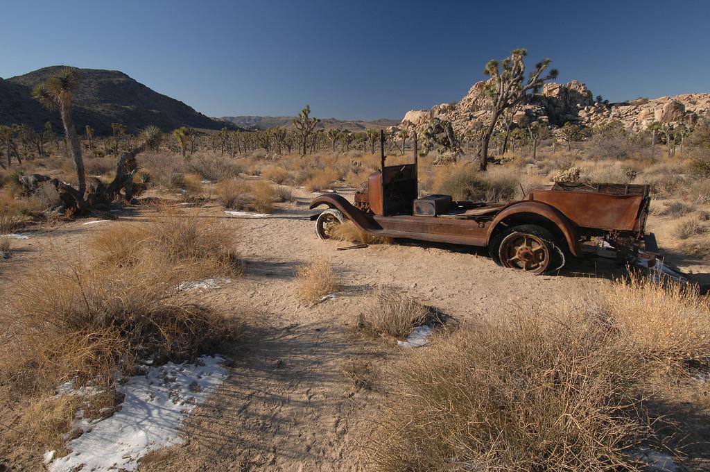 Truck near Desert Queen Well