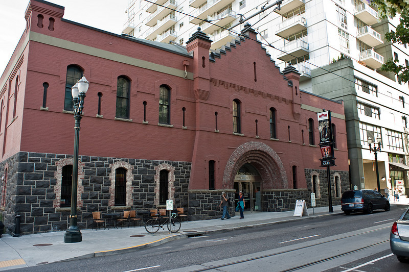 The old Portland Armoury in the Pearl District has been remade into a very lovely theatre.