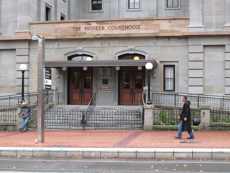 Pioneer Courthouse - Portland