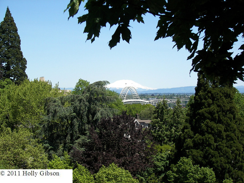 Mt. St. Helens and Fremont Bridge
