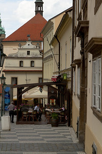 Along Nerudova Street