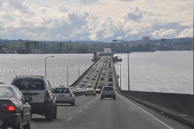 Le pont flottant de Seattle !