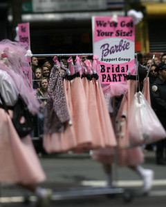 Barbies, SF Pride, June 2008