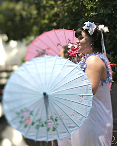 Parasols, SF Pride, June 2008