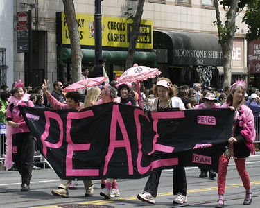 Peace, SF Pride, June 2008