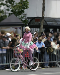 Cyclist, SF Pride, June 2008