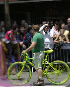 Green Bicycle, SF Pride, June 2008
