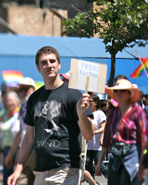 Proud Brother, SF Pride Parade 2009
