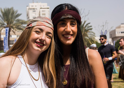 Tel Aviv Purim Party Kikar Hamedina