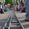 the worlds smallest steam train tracks