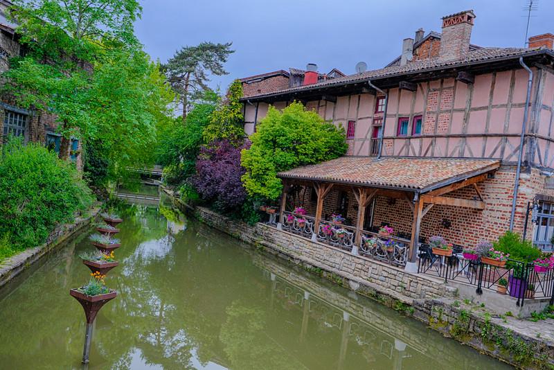 Petite Venise de Chatillon sur Chalaronne - France