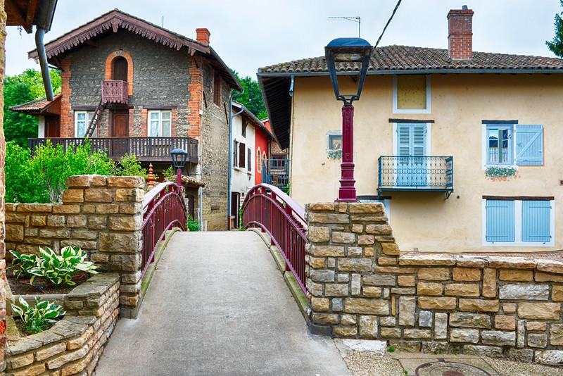 Pont Fleuri - Chatillon sur Chalaronne